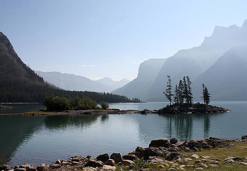 Lake Mennewanka by Carolyn Ardolino