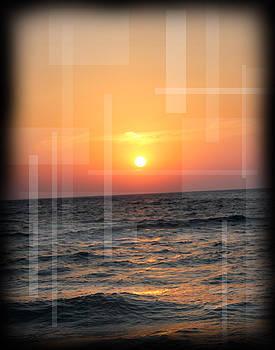 Lake Michigan Sunset by Andrew Sliwinski