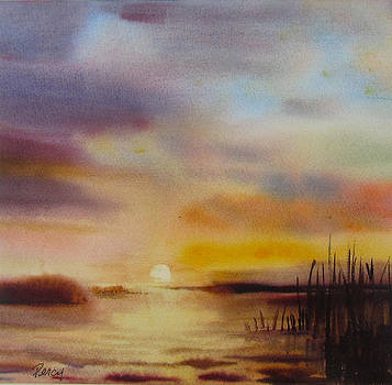 Lake Minnehaha Sunset by Pat Percy