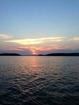 Lake Murray Sunset by M West