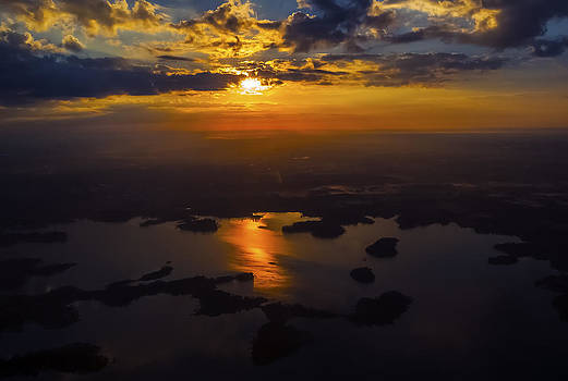 Lake Norman Sunrise by Greg Reed