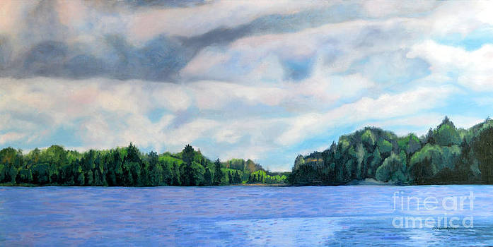 Lake Ontario Summer by Joan McGivney