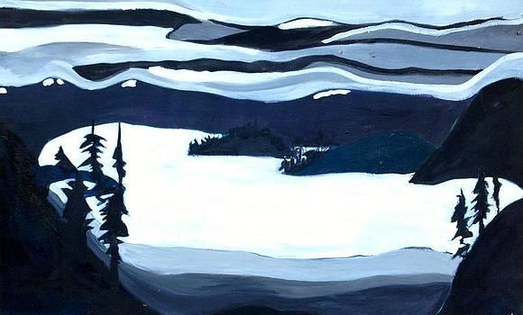 Lake Pend O'rielle by Kendall Wishnick Adams