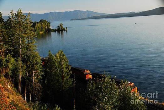 Lake Pend Orielle by Sam Rosen