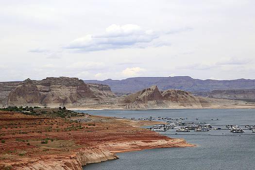 Lake Powell View II by Gladys Turner Scheytt