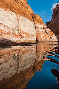 Robert VanDerWal - Lake Powell Reflection