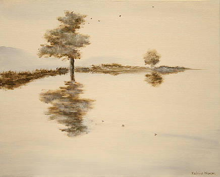 Lake Reflection by Katrina Nixon