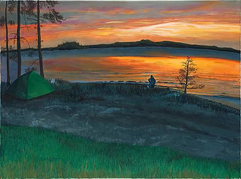 Lake Saimaa in Finland by Phillip Compton