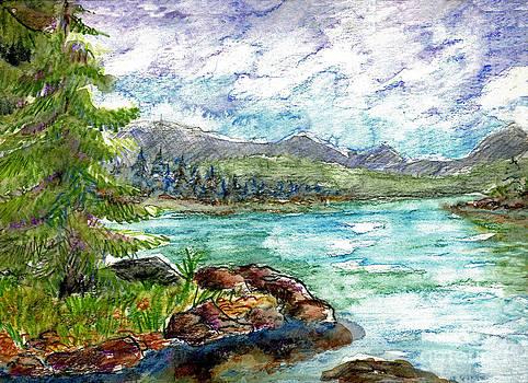 Ellen Miffitt - Lake Scene