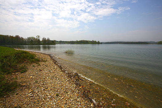 Lake Scene by John Holloway