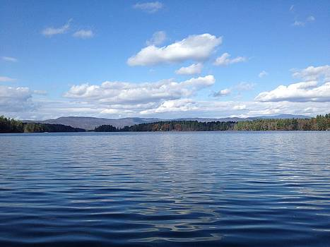 Lake Squam by Lisa Lamir