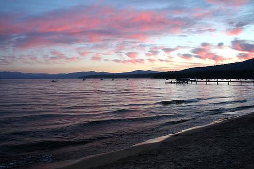 Art Block Collections - Lake Tahoe Beach