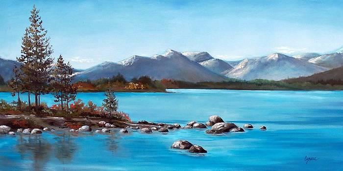 Lake Tahoe Blues by Cynara Shelton