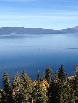 Lake Tahoe Boat  by Heather Lavoie