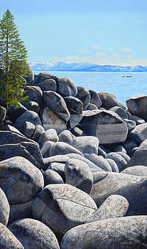 Frank Wilson - Lake Tahoe Boulder Shore