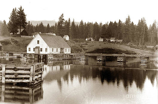 California Views Mr Pat Hathaway Archives - Post Office, Lake Tahoe California circa 1890