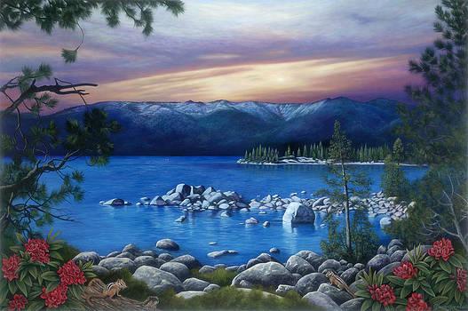 Lake Tahoe by Glenda Stevens