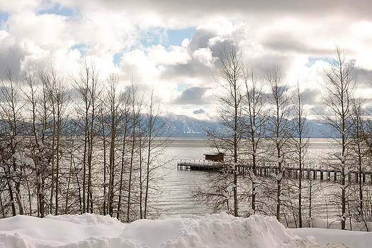 Lake Tahoe in Winter by Denice Breaux