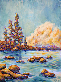 Lake Tahoe Peace by Sara Zimmerman