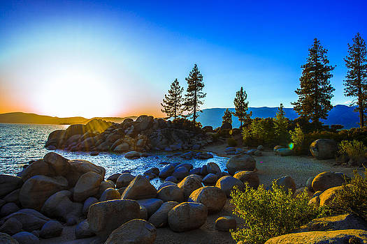 Lake Tahoe Sunset - Sand Harbor by Brandon McClintock