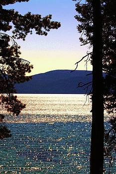 Lake Tahoe - West shore by Russell  Barton