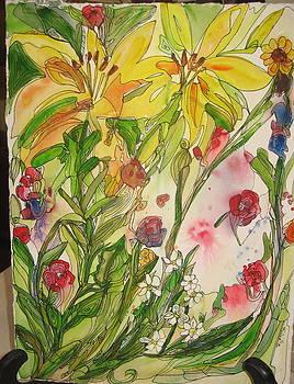 Lake Tahoe Wildflowers by Michelle Gonzalez