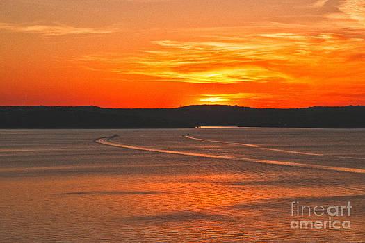 Mae Wertz - Lake Travis at Sunset