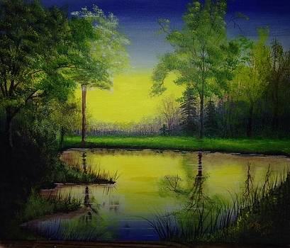 Lake View by Betty Reineke