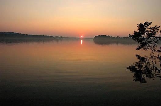 Robert Anschutz - Lake Wabasus Sunset