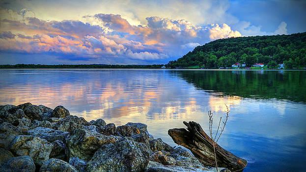 Lake White Sundown by Jaki Miller