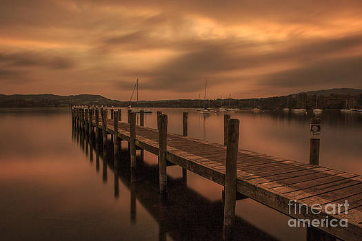 Lake Windermere Sunset by Pete Reynolds