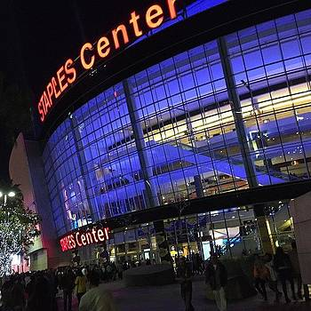 Lakers Game #la by Brian Kalata