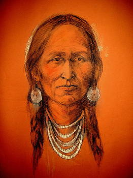 Lakota Woman by Johanna Elik