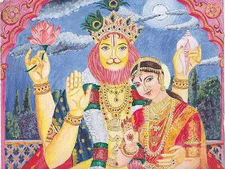 LakshmiNarasimha by Parimala Devi Namasivayam