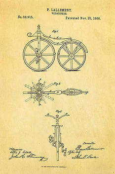 Ian Monk - Lallement Cycle Patent Art1866