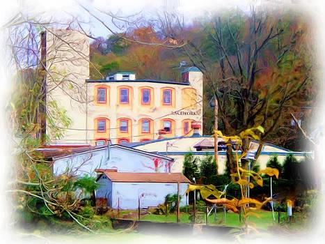 Rick Todaro - Lambertville Building Scene