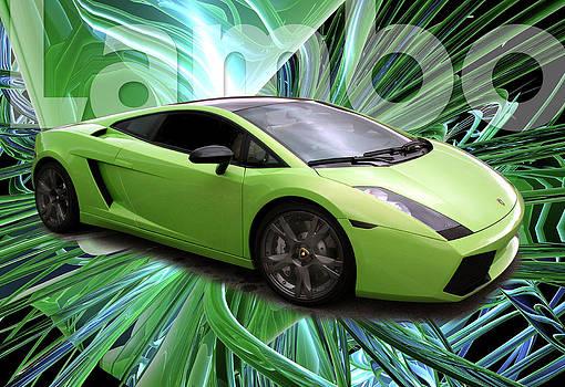Lamborghini Green by Martin Sullivan