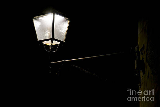 Lamp by night by Stefano Piccini