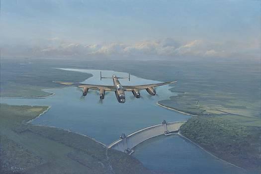 Lancaster Bomber by Richard Picton