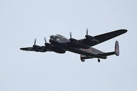Lancaster bomber. by Rosanna Zavanaiu