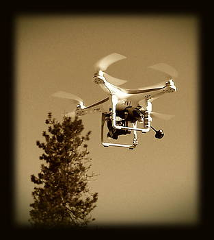 Landing Drone by Sue McElligott
