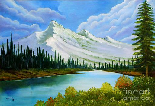 Landscape 5 by Divya Kakkar
