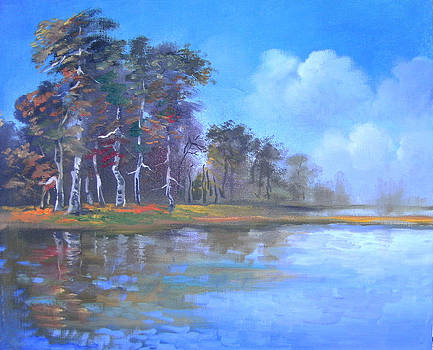 Landscape 8 by Marisa Gal