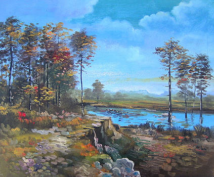 Landscape 9 by Marisa Gal