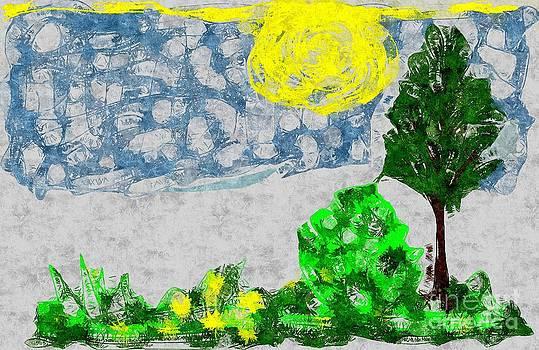 Landscape in colors by Dana Hermanova
