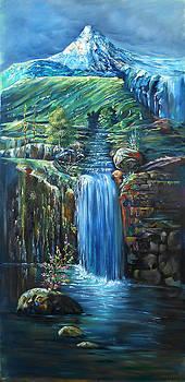 Landscape Of Imaginarion by Arif  Qureshi