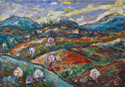 Landscape of Sumadija by Borislav Djukanovic
