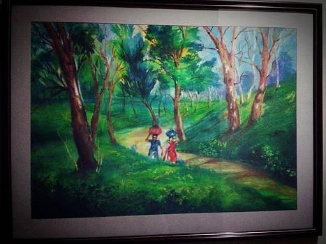 Landscape by Samiha