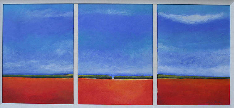 Victoria Sheridan - landscape triptych