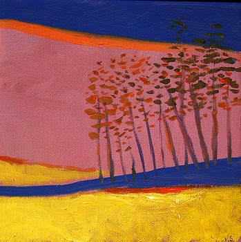 Landscape With Trees  by Victoria Sheridan